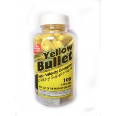Yellow Bullet 25mg Ephedra 100 капсул)