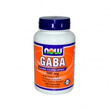Gaba Now Foods 500mg (100 капсул)