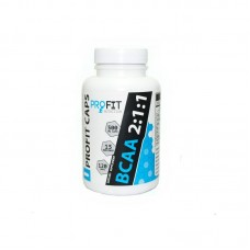 Profit Nutrition BCAA 2:1:1 (120 капсул по 500 мг)